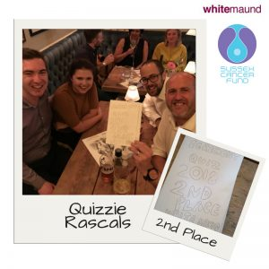 fundraising quiz in aid of Sussex Cancer Fund,